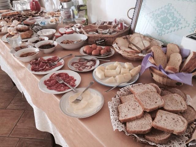 Ontbijt Agroturismo Irhitula