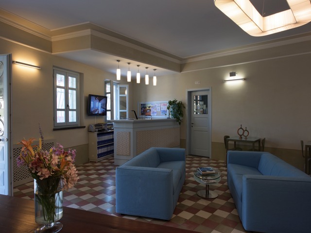 resceptie - hotel aquae - west sardinie