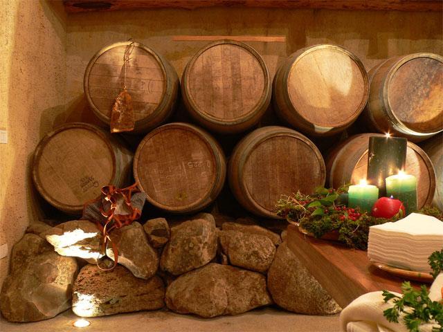 De wijnkelder - Tarthesh Hotel -  Guspini - Sardinië