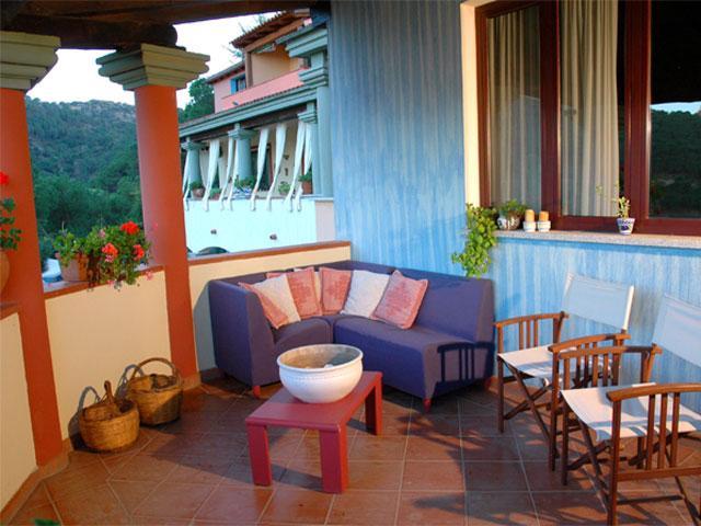 Terras - Hotel Su Lithu - Bitti - Sardinië