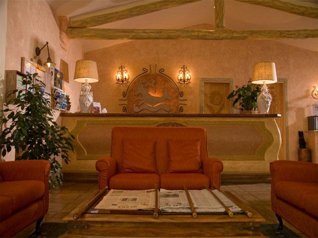 Receptie - Grand Hotel in Porto Cervo - Sardinië
