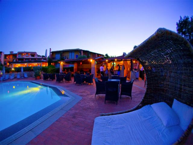 Poolbar - Grand Hotel in Porto Cervo - Sardinië