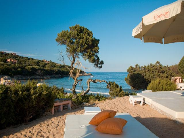 Orange Beach - Grand Hotel in Porto Cervo - Sardinië