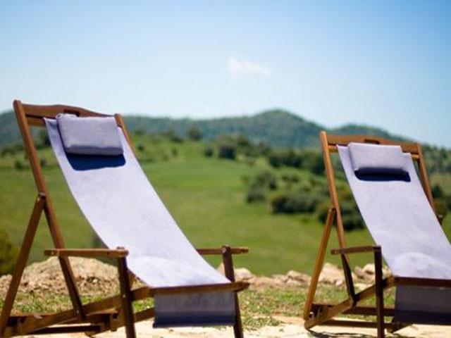 In een oase van rust kunt u heerlijk  ontspanning in agriturismo Genna