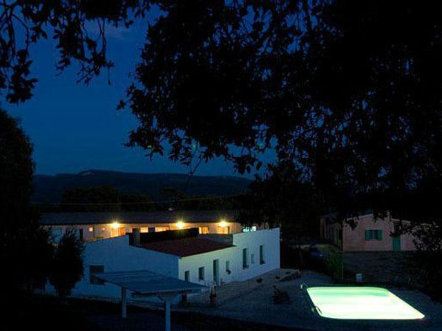 Landhuis Genna e Corte by night - Sardinie