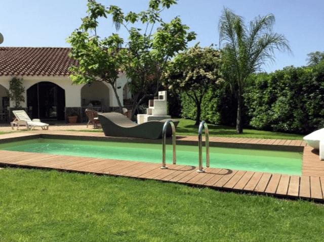 Villa Aloe Pula Sardinien mit Pool und Garten