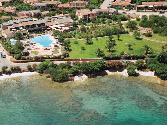 Resort Sardinie - Hotel Cala di Falco - Sardinia4all