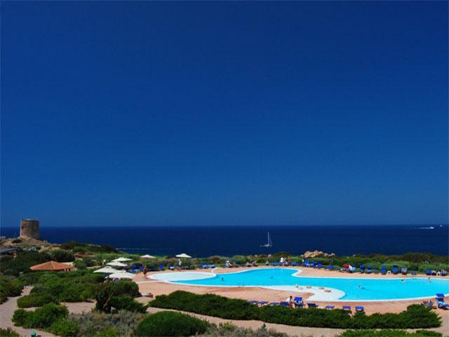 Hotel aan zee - Torreruja - Isola Rossa - Sardinië vakantie